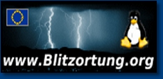 Blitzortung - Powerd by Weerstation Grootegast